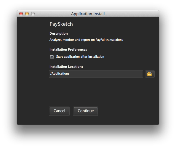 Paysketch Installer