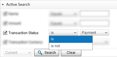 Search PayPal Transaction by Transaction Status