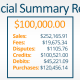 Financial Summary Report