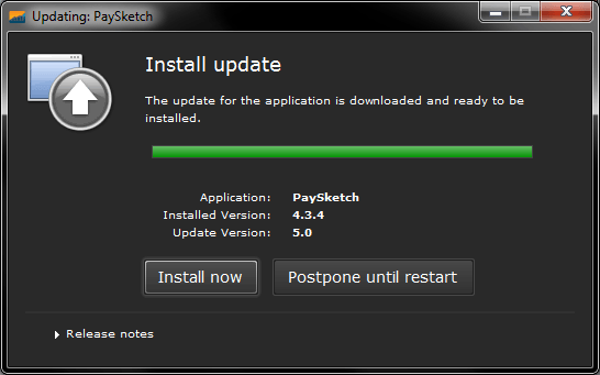 Install Now after download