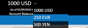 View PayPal balance (multi currency)